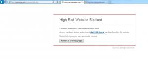 Site Blocked By Sophos Antivirus
