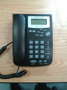 Plain desk phone