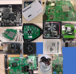 Collage of hardware