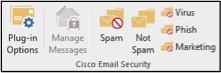 Mail client plugin