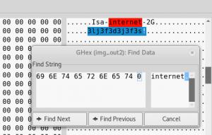 Wi-Fi passphrase next to the SSID